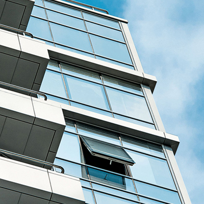 Curtain walling example