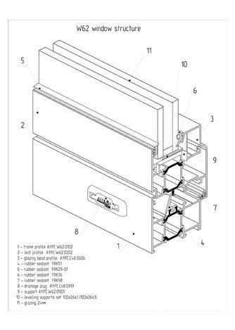 w62 window structure