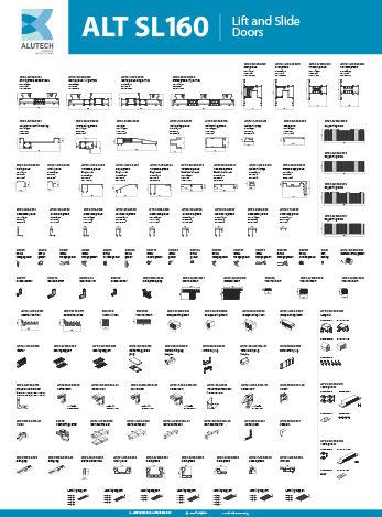 Alutech Systems SL160 Wall chart