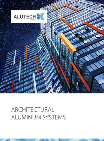 Alutech Systems architectural aluminium systems brochure