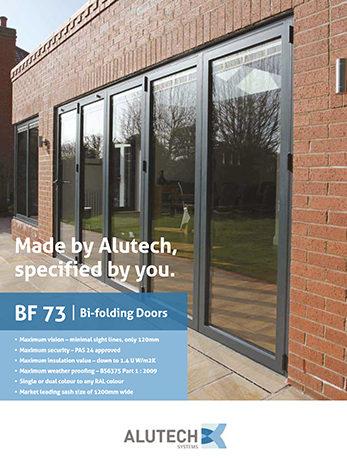 BF73 Bifolding Doors download front cover