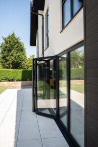 Alutech aluminium bifolds bifolding doors